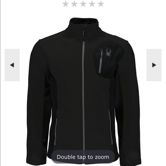 Spyder Mens Bandit Full Zip Jackets